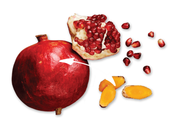 pomegranate-turmeric