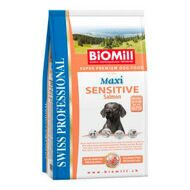 Biomill Maxi Sensitive Salmon - Для привередливых и проблемных собак с аллергией на все виды мяса
